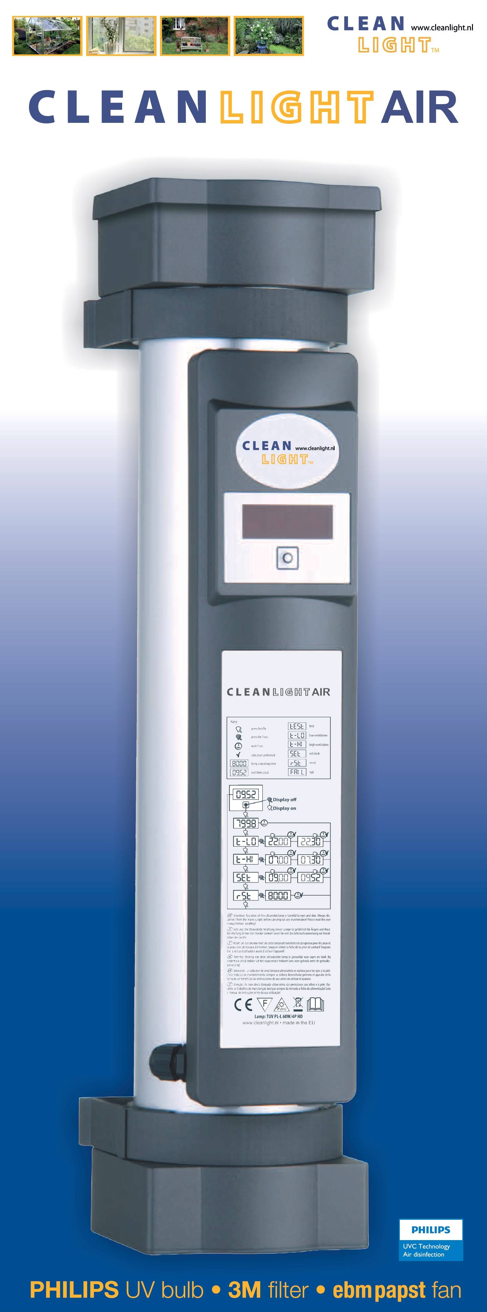 Cleanlight Air Unit Serious Seeds