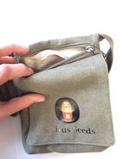 Serious Seeds - Hemp Shoulder-Bag 739081765